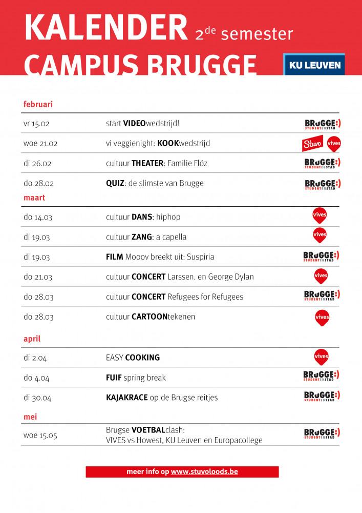 kalender campus Brugge sem2 18 ku leuven